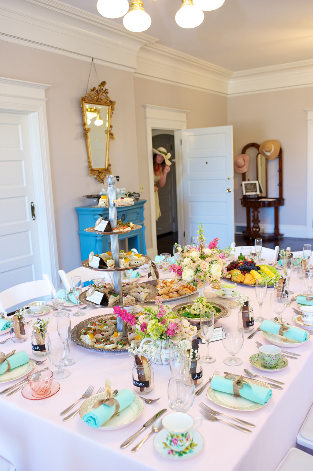 Tea Party Bridal Shower Alluring Events And Design